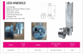 LED světla LED-HW5012