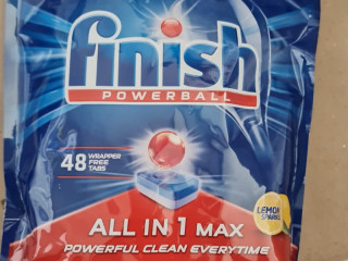 FINISH ALL IN ONE MAX 48 TABS LEMON (CZ)